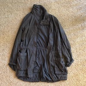 ❤️ James Perse Cargo Trench Coat Jacket